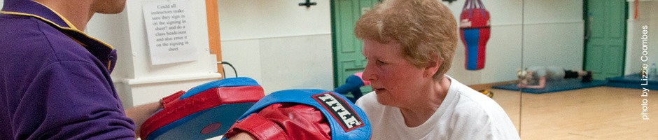 Photo of a Boxercise Class
