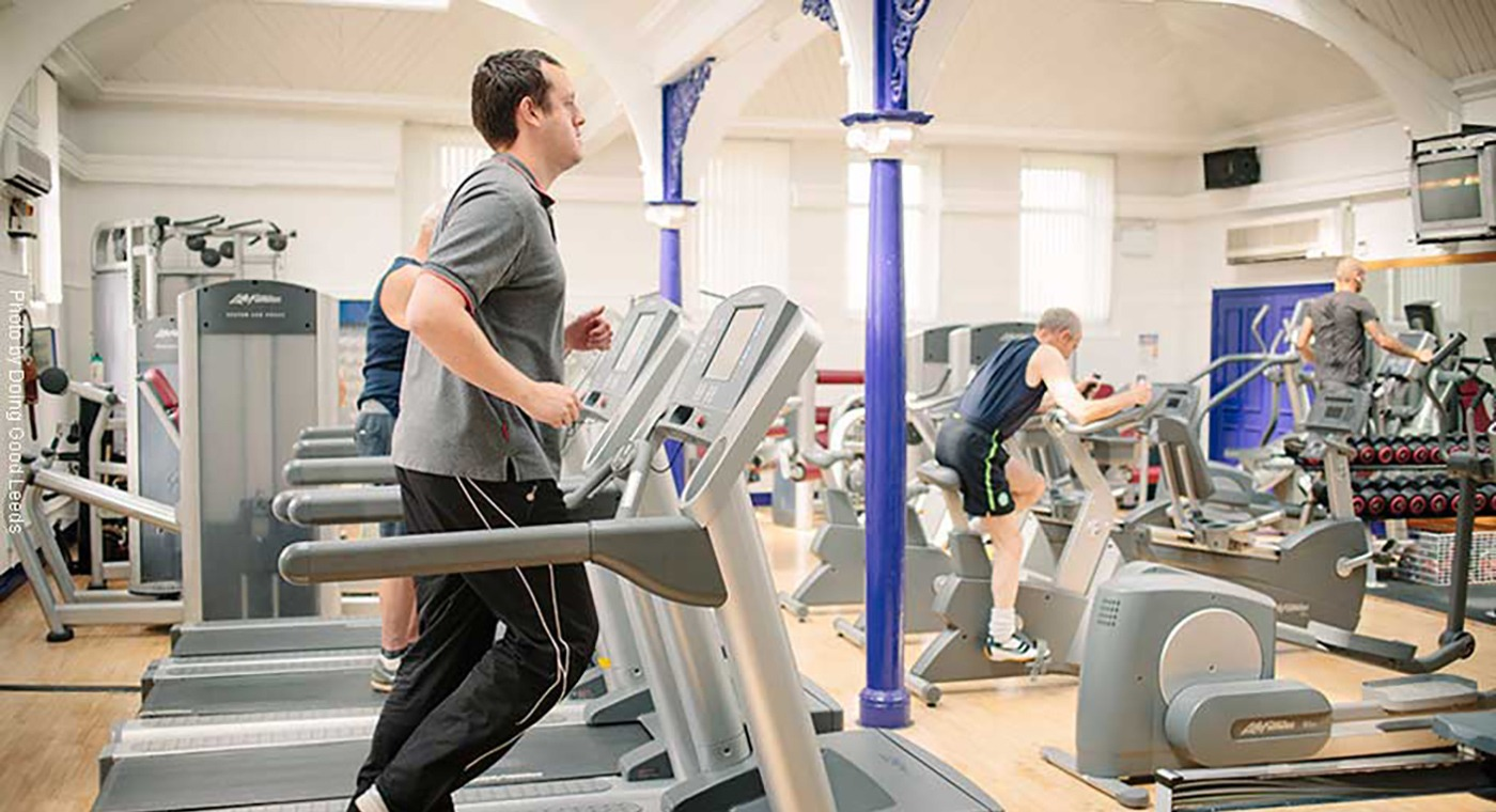 Keeping Bramley Baths' gym safe for our customers
