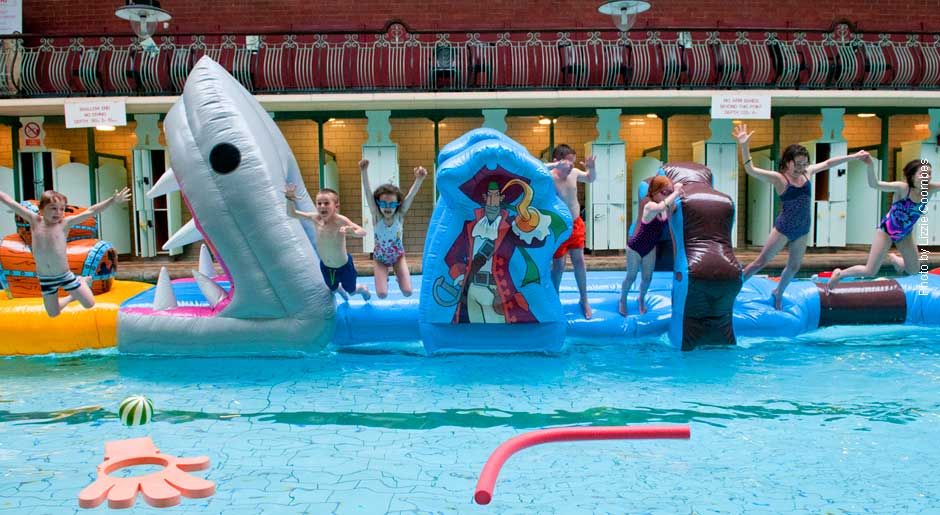 Inflatable Swims become Family Fun Swims