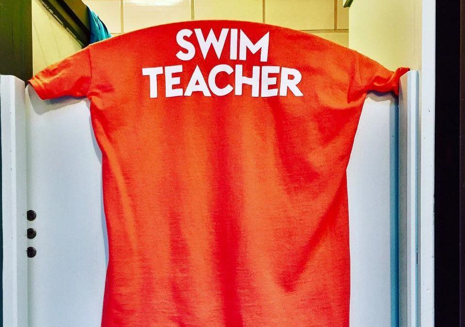 Summer swim teacher courses at Bramley Baths