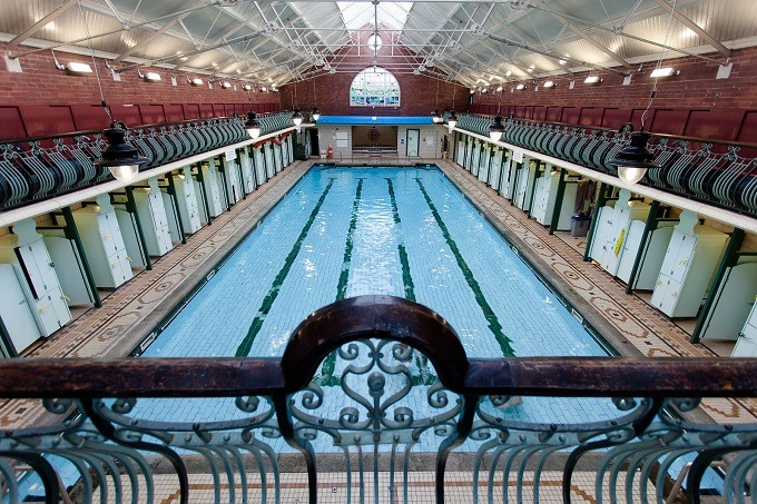 Santa and music as festive swims come to Bramley Baths