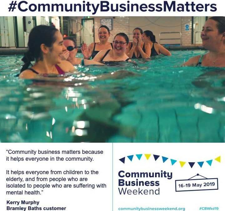 Video: Join Bramley Baths for Community Business Weekend