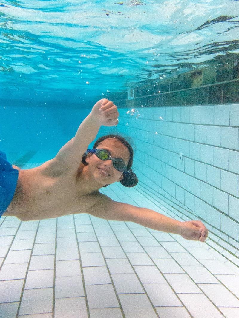 superhero swim