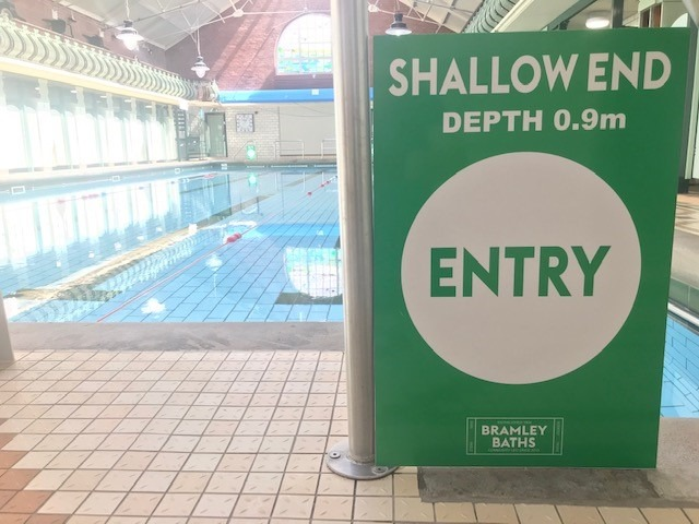 Keeping our pool safe at Bramley Baths